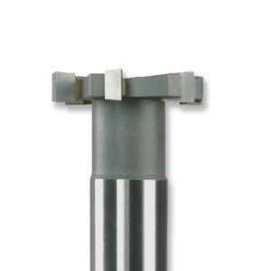 Image 3 - MZG Schneiden Gerade Zahn 16 30mm T Slot Fräser Schweißen Rand Typ Wolfram Stahl Seite fräser Nut Verarbeitung