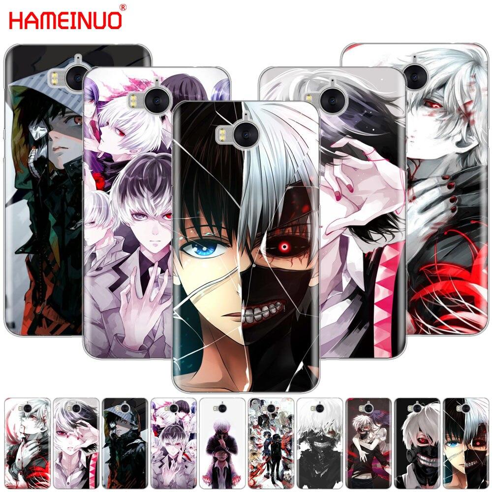HAMEINUO Tokyo Ghoul font b anime b font Kaneki Ken cell phone Cover Case for huawei