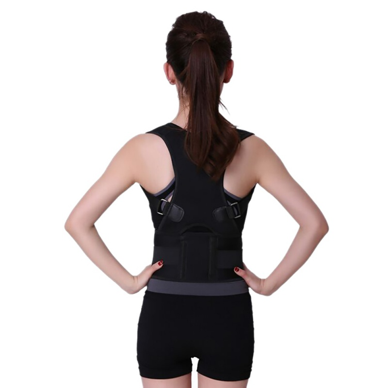 2018 Therapy Posture Corrector Brace Shoulder Back Support Belt for Men Women Braces Supports Belt Shoulder Posture Corrector