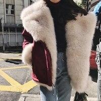 실제 토스카 양 모피 코트 여성 메리노 양 모피 재킷 자연 터키 토스카 양피 코트 더블 직면 모피 슬림 재킷