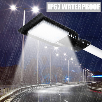 Augienb 14000 Lúmen 100/200 W Ip67 à Prova Dip67 água 48/96 Led Luz De Rua Ao Ar Livre Jardim Quintal Parede Estrada Estacionamento Lâmpada Iluminação