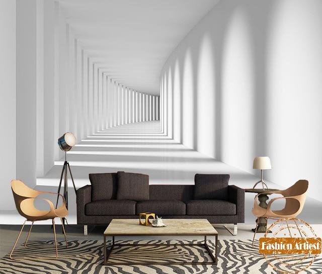 Kundenspezifische moderne 3d licht und schatten space time for Wohnzimmer quadratmeter berechnen