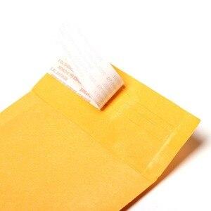 Image 5 - Оптовая продажа, 100 шт./лот, от производителя, крафт пакеты с пузырьками, почтовые пакеты с подкладкой, конверты, бумажные пакеты, 11x13 см