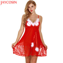 Babydolls sexy lingerie women lingeries lace lingerie sexy hot erotic sexy  dress Underwear Christmas Chemise Sleepwear 77c3b63f2
