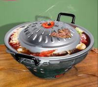 Таиланд жаровне специальный горячий горшок тайский Отель Ресторан посуда мангал на угле барбекю печь суп кастрюля жареного мяса горшок