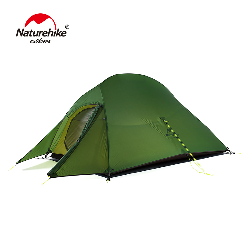 Naturehike Upgraded Cloud Up 2 Ultralight Tent Free Standing 20D Fabric Camping Tents For 2 Person With free Mat NH17T001-TNaturehike Upgraded Cloud Up 2 Ultralight Tent Free Standing 20D Fabric Camping Tents For 2 Person With free Mat NH17T001-T