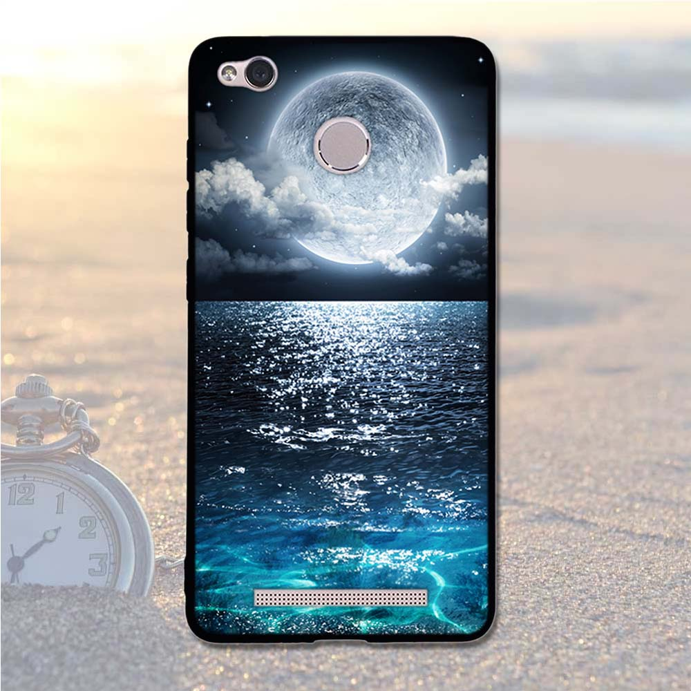 Image 5 - Case For Xiaomi Redmi 3S Case Cover Soft Silicone For Xiaomi Redmi 3S 3X 5.0 Cover Back Case For Xiaomi redmi 3 S 3X 3 Pro Shell-in Fitted Cases from Cellphones & Telecommunications