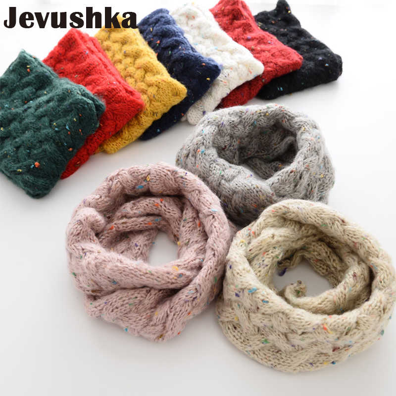 Winter Baby Infinity Scarf Knitted Scarves for Kids Girl and Boy Scarf SF008