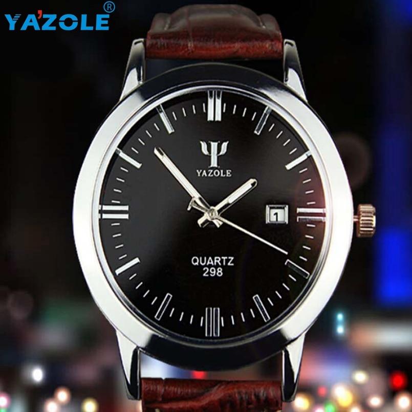 YAZOLE Wrist Watch Men Famous Wristwatch Male Clock Quartz Watch Hodinky Quartz-watch Relogio Masculino s16