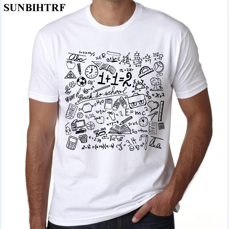 SUNBIHTRF 2018 Funny Plus Size Fashion Cool White Chic T