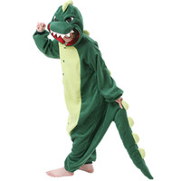 Green Dinosaur Lion Adults Pajamas Pyjamas Anime Cosplay Animal Cartoon Onesies Sleepwear Funny Pyjama Sets Godzilla
