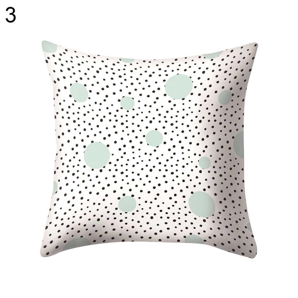 45x45 Decorativo Criativo Simples Geometria Lance Fronha de Mármore fácil mudar o núcleo travesseiro