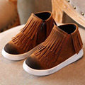2017 Winter Kids Fashion Boots Fringes Girls Shoes Toddler Boys Causal Shoes Children Sneakers Unisex