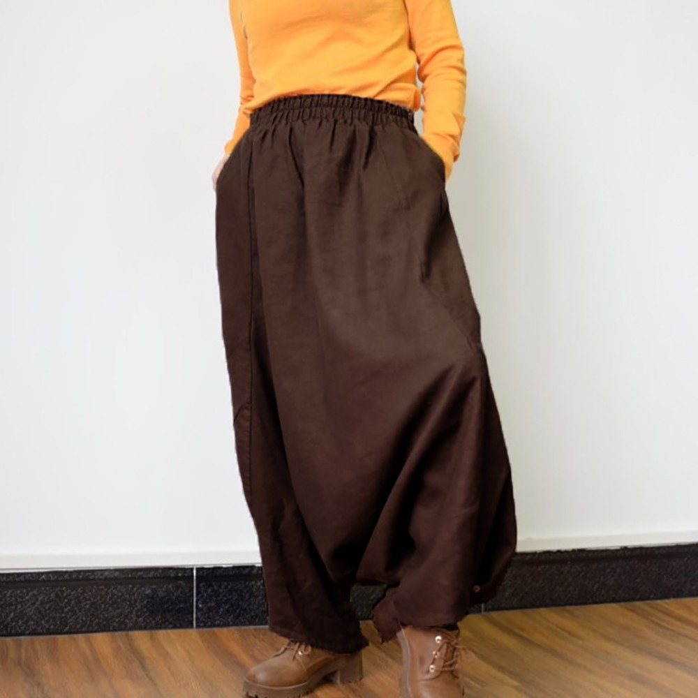 Harem Hippie Pants Yoga Black /& White Retro Gypsy Aladdin Boho Loose Festival