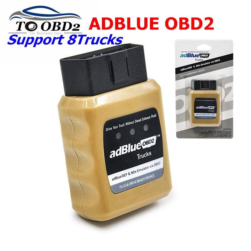 Adblue Emulator Für Benz OBD2 Emulator Adblue Für Mercedes BENZ OBD2 Auto Diagnose Werkzeug OBD2 Heavy Duty Diesel Scan Tool