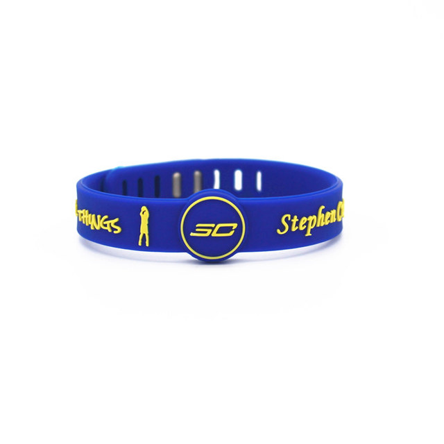 Basketball star adjustable sports Silicone Wristband  bracelet 2
