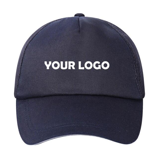 264360c7174 Adjustable hip hop casquette Snapback Baseball Cap golf sports visor hat  Trucker Hats blank 5 panel mesh back cotton cap