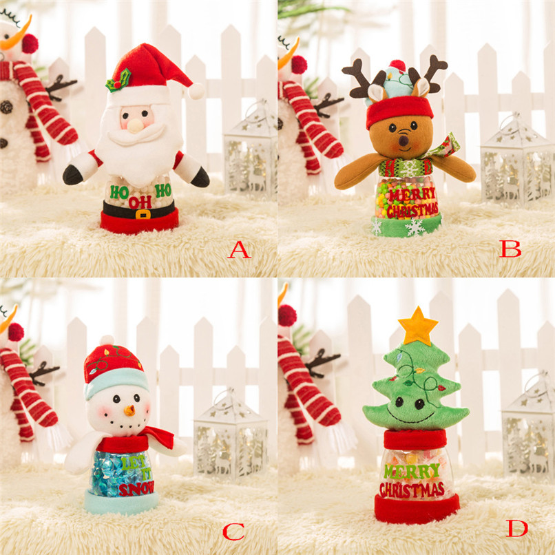 New Arrival Christmas Candy Decoration Santa Claus Tree