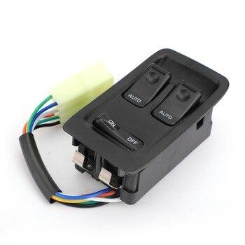 Areyourshop moc mistrza Auto okno przełącznik FD14-66-350C dla Mazda RX-7 RX7 1993-2002 2000 czarny nowy pokrowce do stylizacji samochodu przełączniki