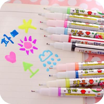 5/10 Colors/Set Graphic Design Graffiti Marker Pen Magic Pop Up 3D Art Markers Set DIY Card Drawing Pen touchnew 60 colors artist dual head sketch markers for manga marker school drawing marker pen design supplies 5type