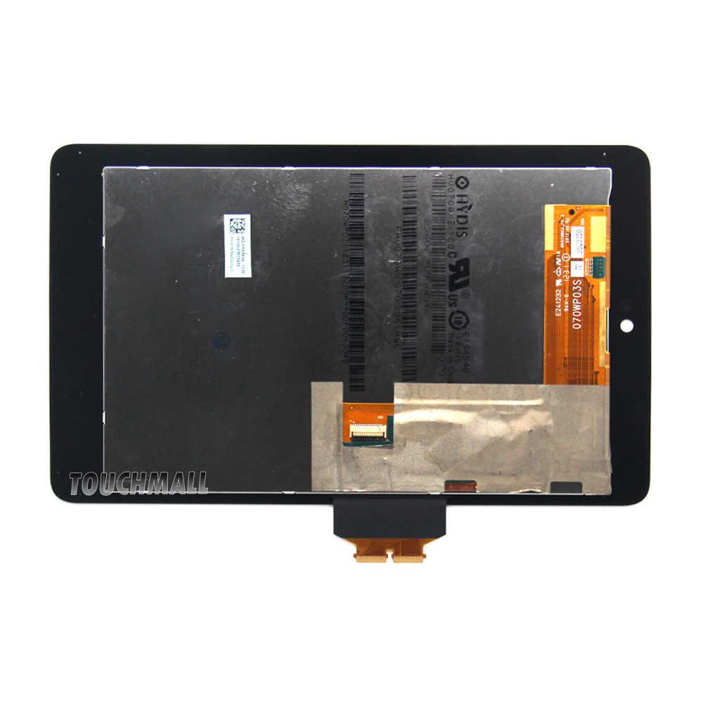 Nowy wyświetlacz lcd wymiana montaż ekranu dotykowego dla Asus Google Nexus 7 Nexus7 2012 ME370 ME370T ME370TG + narzędzia