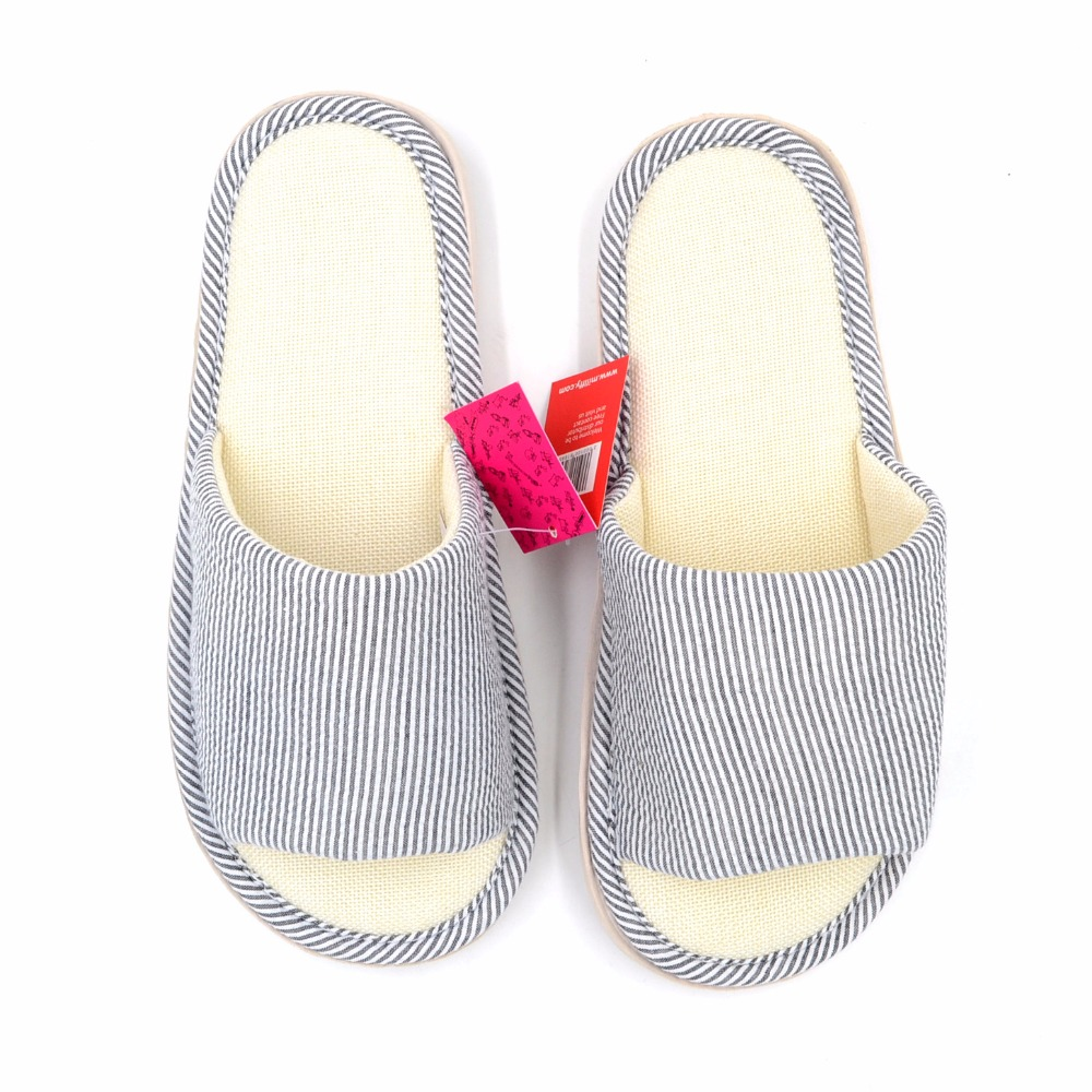 95b74bee9c5448 Millffy Japanese bamboo bottom fringe couples home shoes indoor slippers  rubber bottom breathable sandals and slippers-in Slippers from Shoes on ...