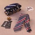 21colors High-grade polyester silk tie business suits 6 cm skinny jacquard men ties designers fashion striped flower 10pcs/lot