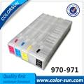 Для HP970 971 Пустые Многоразового Картриджи для HP X451dn X551dw X476dn X576dw с ARC чипов