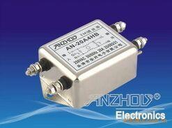 AN 6A4HB 250 V 6A 250 V filtr EMI AC filtr szumów częstotliwości komponenty złącze w Złącza od Lampy i oświetlenie na