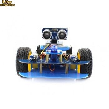 AlphaBot-Ar-Basic UNO PLUS + AlphaBot Platform + Ultrasonic Sensor Basic Robot Study Set
