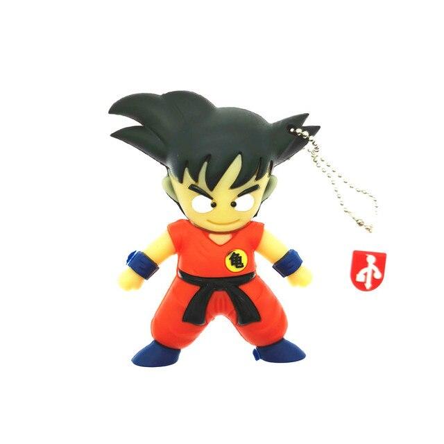 2019 hot pen drive dom usb flash drive pendrive dos desenhos animados Dragon Ball Goku filho 4 gb gb 16 8 gb 32 gb 64 gb mini keychain brinquedo de presente