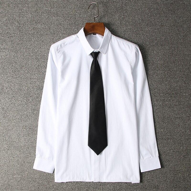 07d01636616d TiaoBug Boys School Uniform Long Sleeve White Oxford Shirt Gentleman  Wedding Outfits Clothing, Shoes & Jewelry Button-Down ...