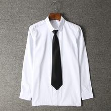2018 Hot Japanese Boys Shirts Kids Long Sleeve White Girls School Uniform Blouses Wedding Formal