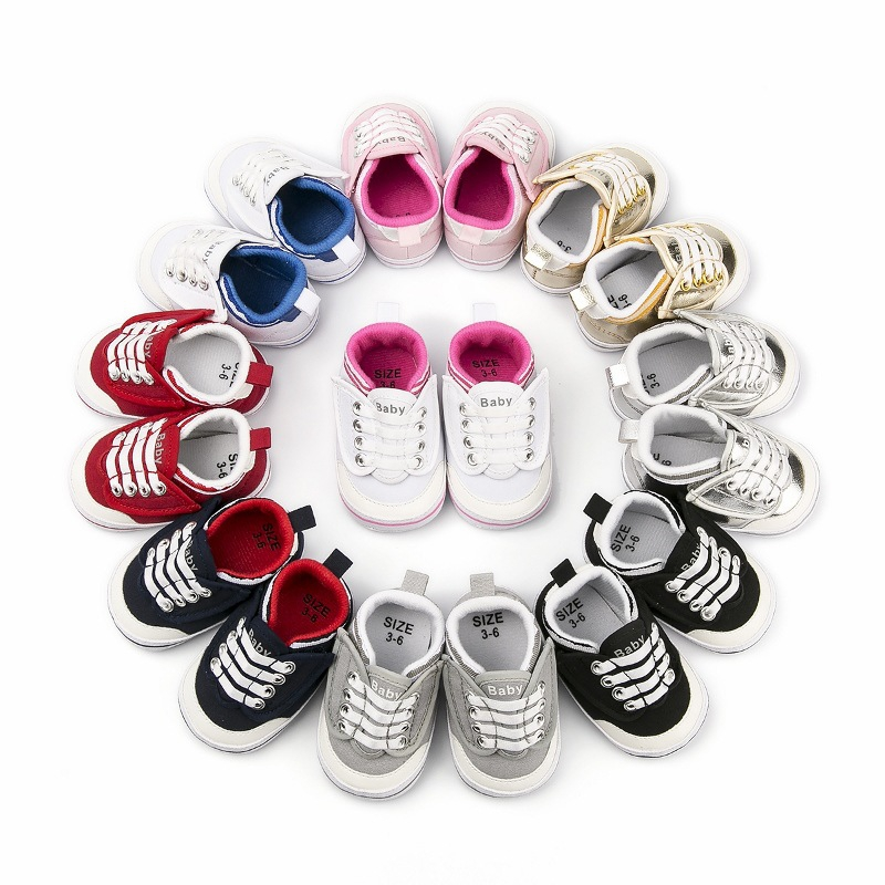 Baby Shoes Sneakers Soft-Sole Anti-Slip Toddlers Girls Infant Boys New Autumn 3-12M Running