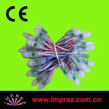 Промо-Акция! 12 мм WS2801 полноцветный светодиодный пиксельный модульный, IP66; вход DC5V; 50 шт. нитке