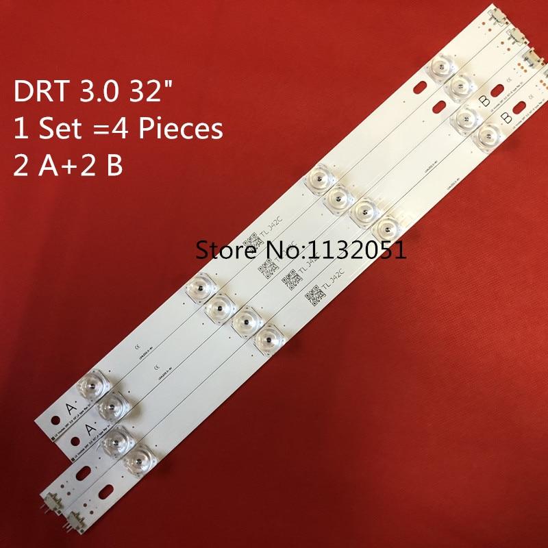825mm 4 Pieces  8 Leds For LG 42 Inch TV INNOTEK DRT 3.0 42