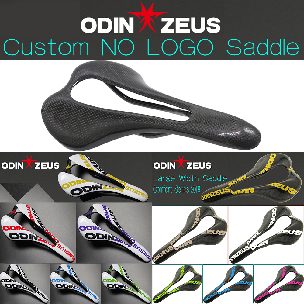 OdinZeus Custom NO LOGO/Colorful Top-level Mountain Bike Comfortable Widened Saddle/Road/MTB Carbon Bicycle Saddle Seat