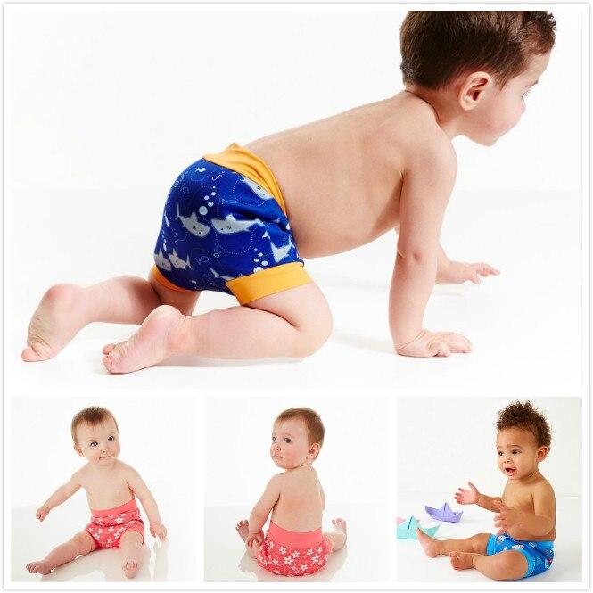 Ocean Fry Baby Reusable Swim Diaper Super Thin Swim Diaper Pool Pants