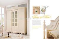 8006 мебель для спальни деревянная четыре двери шкаф chifforobe