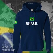 Бразильская Толстовка мужская Толстовка новая уличная одежда Топы трикотажные костюмы спортивный костюм национальный бразильский флаг Бразилия флис BR