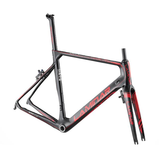 Cheap LAMINAR Full carbon road bike frame road carbon frameset BICICLETTA bicycle Carbon Frame
