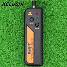 KELUSHI 1/10/20/30mw Visual Fault Locator für 2,5mm Connecter Mini RGT Rot Laser fiber Optic Tester FTTH 1 30km