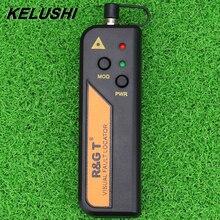 KELUSHI Localizador Visual de Fallos 1/10/20/30mw para conector de 2,5mm, probador de fibra óptica láser rojo RGT FTTH 1 30km