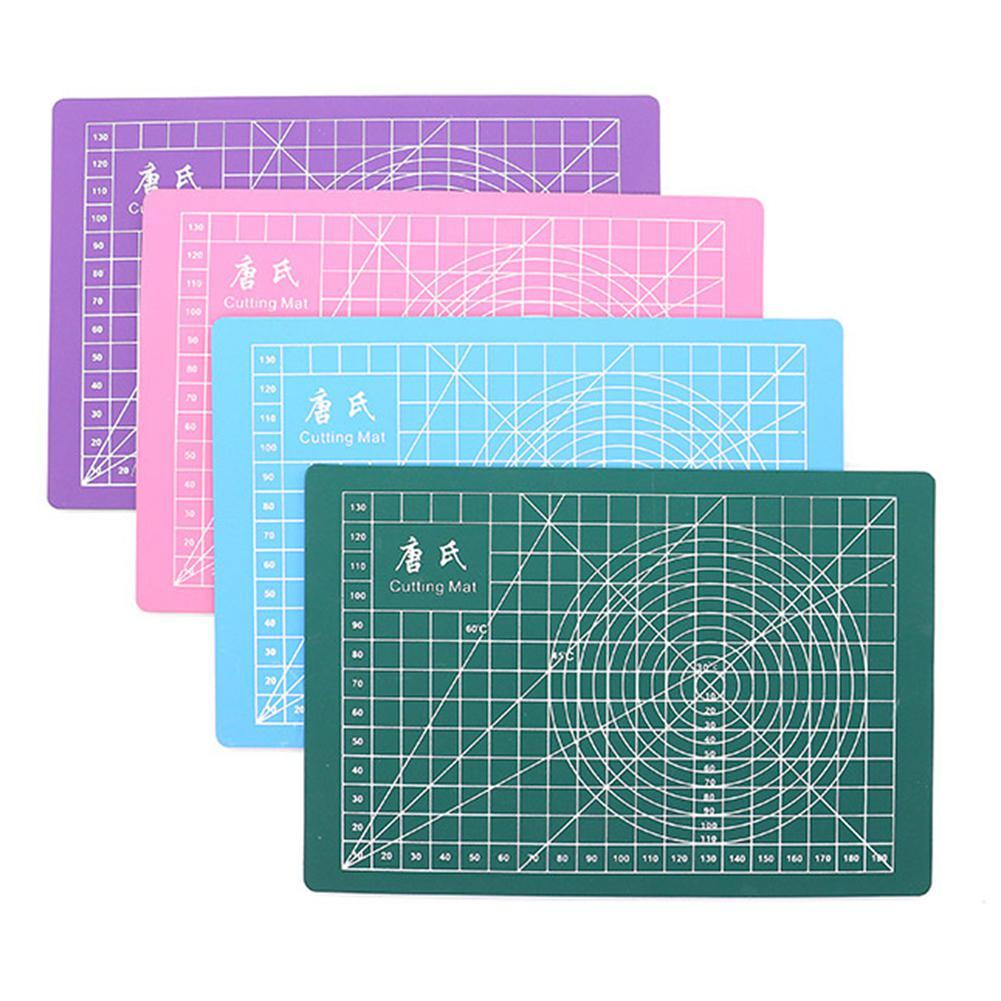 Cutting Plate A5 High Quality 21*25cm Professional Self-Healing Cutting Mat Engraving Pad Green/pink R29