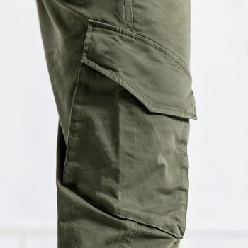 Casual Cotton Ankle-Length Pants 1