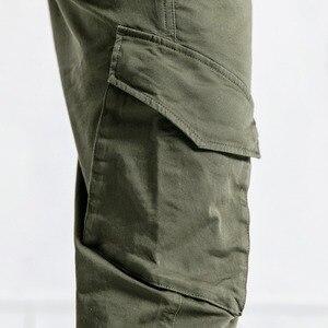 Image 2 - SIMWOOD nuevo 2019 pantalones casuales de moda para hombres Hip Hop Streetwear ropa de marca de algodón pantalones de tobillo pantalones masculinos 190056 para hombres