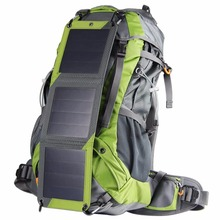 New! Hiking Solar Backpack Outdoor Mountaineering bags 10W Detachable Solar Panel For Powerbank Camera Camping Travel Knapsack