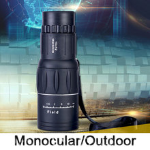 Cheapest prices Monocular Telescope 16X52 High Power Low light telescope HD  Binoculars For Travel Hunting Bird-watching View
