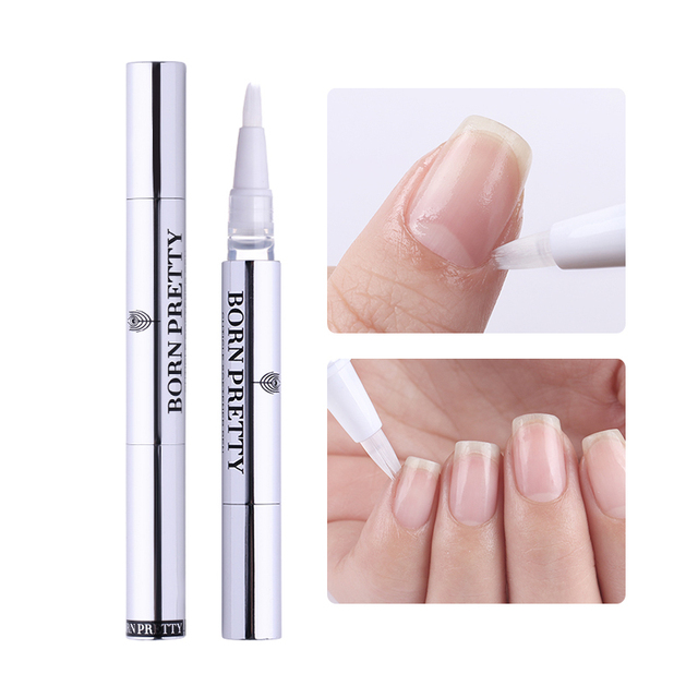 BORN PRETTY Nail Cuticle Oil 2ml Fruit Flower Flavor Oil Pen Manicure Nail Art Nutrition Treatment Care Tool