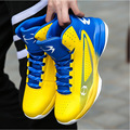 2017 Mens Basketball Shoes Hign Top Leather Basketball Sneakers Black Blue Athletic Shoes Training Boots Sport Shoes Basketball